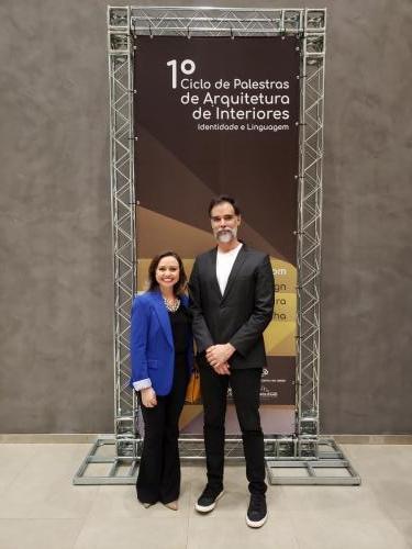 Presidente Daniel Mangabeira e Juliana Visinhesky