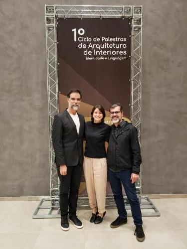 Presidente Daniel Mangabeira e Verônica Molina e Victor Penha